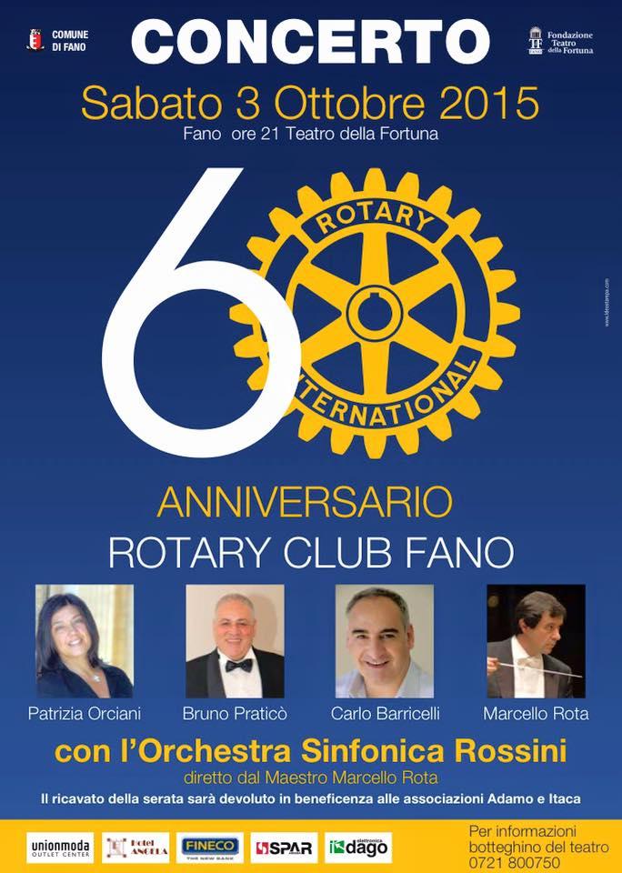 Concerto per il 60° anniversario della fondazione del Club